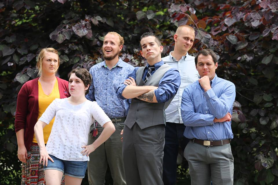 Left to Right: Nicole Stephens (2014-2015), Ashley (Gwen) Slater (2013-2014), Joseph Konvicka (2015-2016), Jason Scott, Joshua Cunningham (2011-2012), Chris Woudstra (2012-2013). Representing over 15,000 hours of national service. Thank you to Lori Saal for taking this photo.