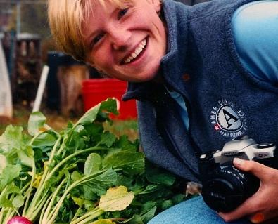 Lena at farm