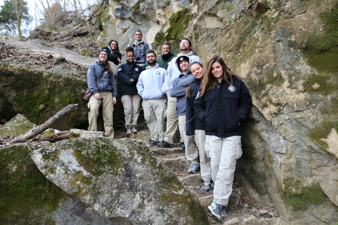 AmeriCorps*NCCC, River 7 at Ijams Nature Center